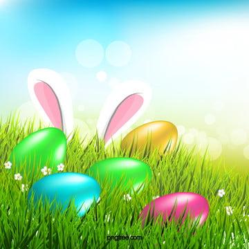 新鮮な緑の草は、卵の背景 , 清新, 緑の草, 卵 背景画像