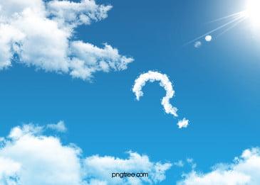 bầu trời xanh mây bạch vân Ánh sáng nền in dấu hỏi, Bầu Trời Xanh, Đám Mây, Muscovite. Ảnh nền