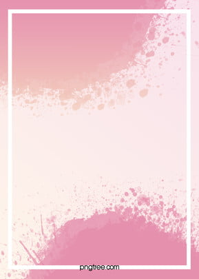 vector romantic pink ink watercolor background , Pink, Romantic, Dream Background image