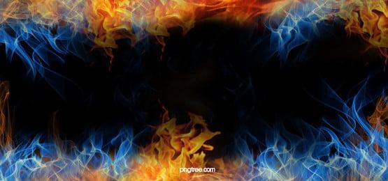 炎炎熱, 煙, バーン, エネルギー 背景画像