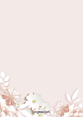 Simple Pink Flower Leaves Background, Wedding, Pink, Happy, Background image