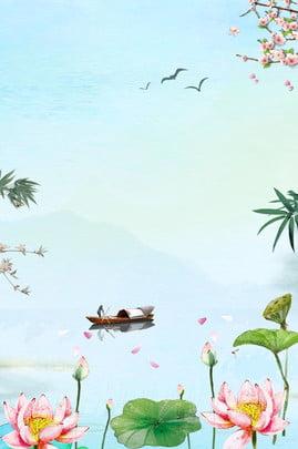 cantik bunga teratai di bawah matahari , Lotus, Bunga-bunga, Cahaya Matahari imej latar belakang