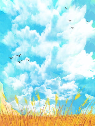 bạch vân yêu nền bầu trời xanh , Bầu Trời Xanh, Muscovite., Lòng Yêu Thương Ảnh nền