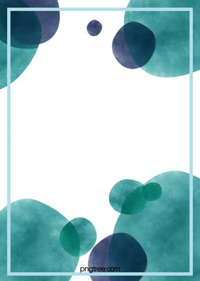 art watercolor ink border green background , Art, Green, Blue Background image