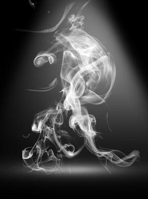 煙霧の背景 , スモッグ, スケルトン, 恐怖 背景画像