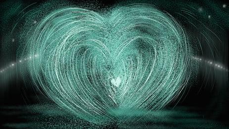 las líneas de fondo negro en forma de corazon h5, Black, La Ciencia Ficción, Línea Imagen de fondo