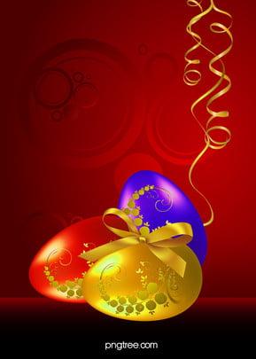 ईस्टर अंडे , लाल, ईस्टर, अंडे पृष्ठभूमि छवि