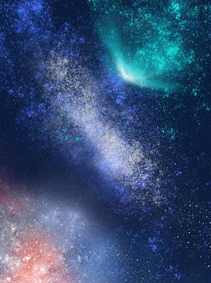 唯美夜空の背景 , 唯美, 夜空に, 背景 背景画像