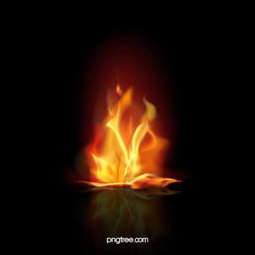 Vector Flames Flames Background, Black, Orange, Flames, Background image