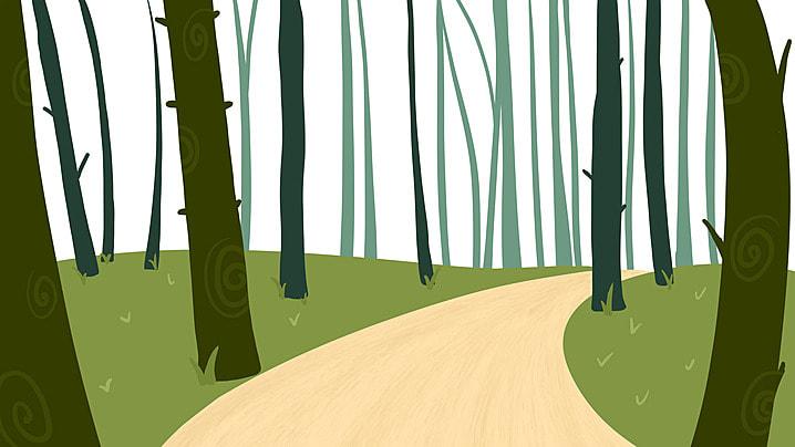 ツリー 森 木質植物 樺 背景, 景観, 森, 公園 背景画像