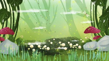 ツリー 森 木質植物 景観 背景, 森, 木, 維管束植物 背景画像