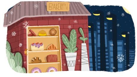 粗糧麵包圖 麵包背景圖庫