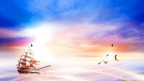 समुद्र के किनारे एक लकड़ी के बोर्डों पृष्ठभूमि, समुद्र, नौकायन, लकड़ी पृष्ठभूमि छवि