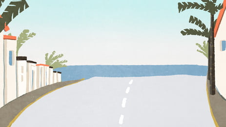 アスファルト 道路 ハイウェイ 景観 背景, 水平, 旅行, ジャーニー 背景画像