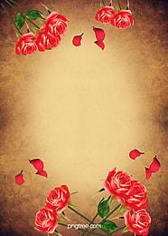 rose vintage stationery background , Rose, Retro, Stationery Background image