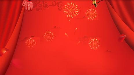 tấm màn đỏ, Màu đỏ., Màn, Khuyến Ảnh nền