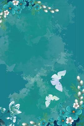 नीले रंग की लकड़ी के फूल पृष्ठभूमि पर , नीले, लकड़ी, Sakura पृष्ठभूमि छवि