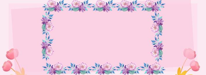 나비가 꽃 경계 h5, 꽃, 나비, 파란색 배경 이미지