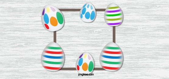 telur paskah realistik kayu belakang tekstur, Paskah, Telur, Seperti Hidup imej latar belakang