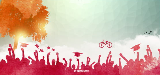 american teen graduation  theme material, Graduation, Youth, People Background image