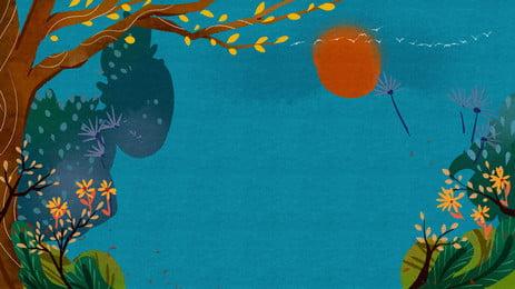 lãng mạn bay poster bài hát nền hoa đu dây, Lãng Mạn., 花藤, Chiếc Xích đu Ảnh nền
