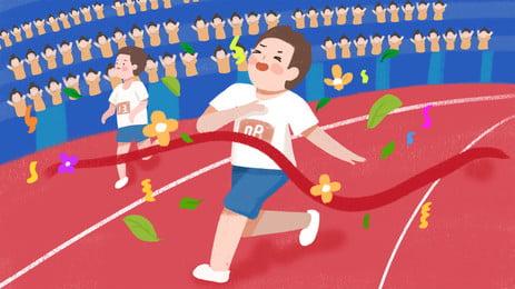 खिलाड़ी लात एक फुटबॉल की गेंद पैटर्न पृष्ठभूमि चित्रण, फुटबॉल, एथलीटों, फुटबॉल पृष्ठभूमि छवि