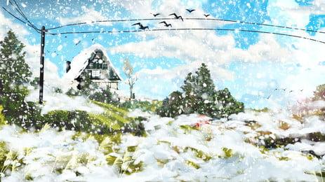 藍色夢幻耶誕節高清背景素材 藍色背景素材 夢幻星光背景 夢幻聖誕樹背景背景圖庫