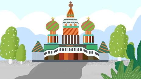 giấc mơ lâu đài disney h5 nền, Bầu Trời Xanh, Mơ Mộng, Muscovite. Ảnh nền