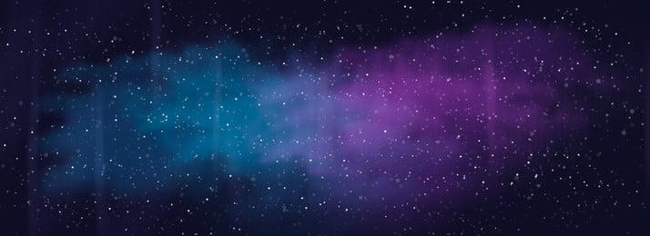 濃紺銀河星空背景素材, 濃紺銀河星空背景図, 濃紺背景, 濃紺の星空 背景画像
