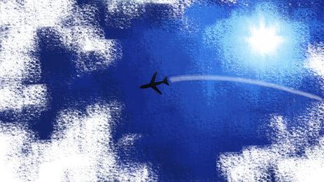 航空のテーマはスタートラインの高精細背景, 航空テーマ背景, 飛行機は素材の背景を背景にする, スタートライン素材 背景画像