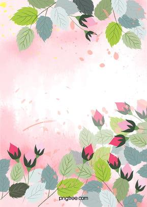 프레임 사진 표시 꽃 배경 , 쓰레기, 창작, 잎 배경 이미지