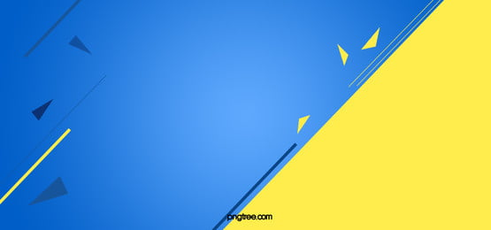 promotions geometric flattening taobao electronic banner background, Yellow, Blue, Flat Background image