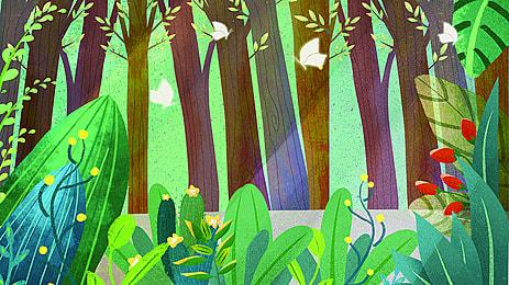 cây cây thân gỗ phong cảnh rừng  nền, Cỏ., Cây, Cây Ảnh nền