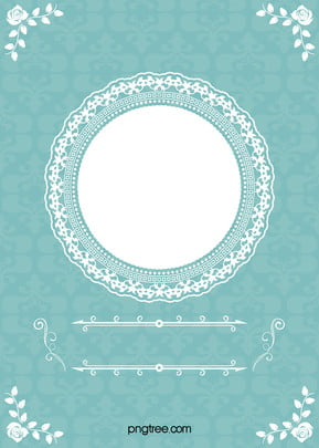 Wedding Frame Floral Blue Background, Tiffany, Blue, Wedding, Background image