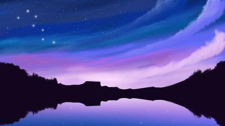 高清風景湖泊電腦桌面桌面, 桌面, 大圖, 風景 背景圖片