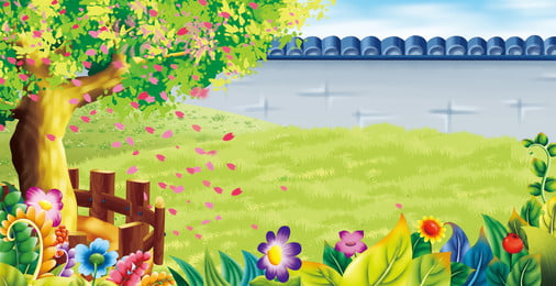 Download 9400 Koleksi Background Bunga Landscape HD Paling Keren