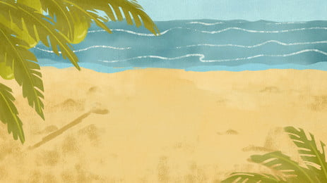 bằng tay nhà trẻ vẽ minh họa cho palm beach lang thang, Bằng Tay, Nhà Trẻ, Tranh Minh Hoạ Ảnh nền