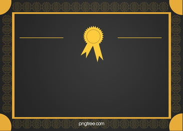 European Pattern Background Material Commendation Certificates, European, Pattern, Border, Background image