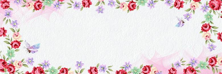 Ý tưởng nền đường viền hoa, Đăng Ten, Cánh Hoa, 花藤 Ảnh nền