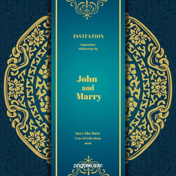 continental gold invitation background material vertical version , Continental, Jane, European Background image