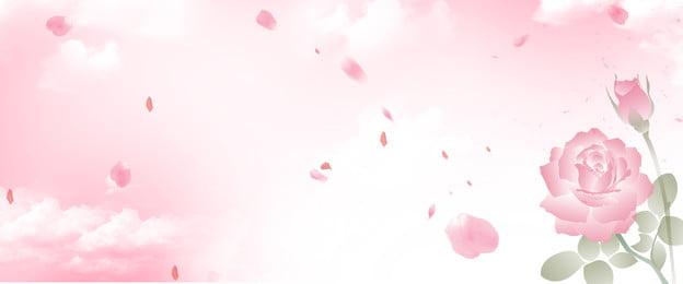 Hoa Hoa Màu hồng Thiết kế Nền Nghệ Thuật Chế Hình Nền
