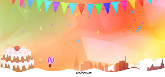 party geometric yellow banner background, Party, Get, Together Background image
