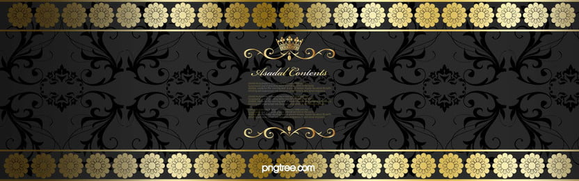 shading floral gold frame background, Black, Vintage, Decoration Background image