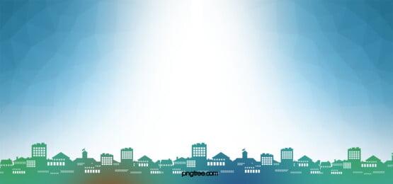 cidade skyline a paisagem arranha   céus background, Edifício, Arquitetura, Torre Imagem de fundo
