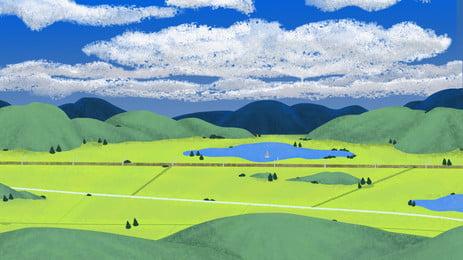 nền nông nghiệp lúa ruộng trũng, Nông Trại., Cỏ Khô, Rơm Ảnh nền