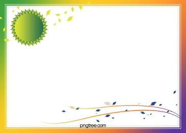 gradient green leaves border vector certificate background, Gradual, Change, Certificate Background image