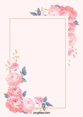 European-style Hand-painted Roses Butterfly Wedding Celebration Wedding Invitation Poster Background, Continental, Wedding, Celebration, Background image
