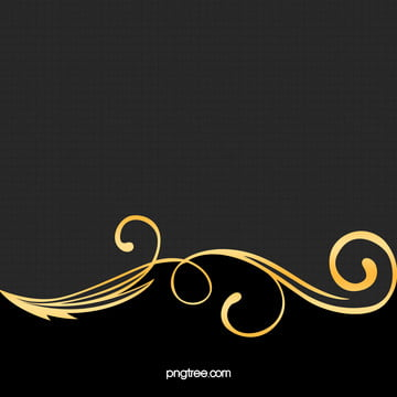 elegant luxury gold pattern on black background material , Black, Golden, Pattern Background image