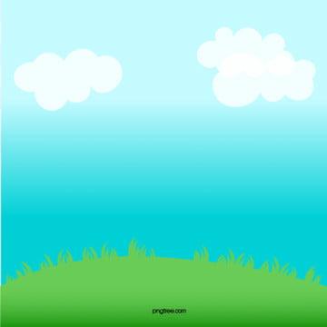 bầu trời xanh  cỏ nền bằng tay bạch vân , Bằng Tay, Bầu Trời Xanh, Muscovite. Ảnh nền