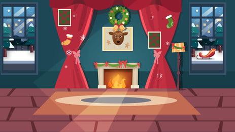 高級書斎室内設計の背景, 室内設計, 室内装飾, ディliuji静物屋内 背景画像